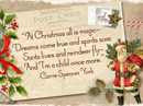 A Child Again Christmas Quote Christmas Postcards