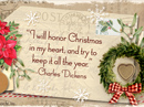 Honoring Christmas Quote Christmas Postcards