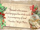 Christmas Love Quote Christmas Postcards