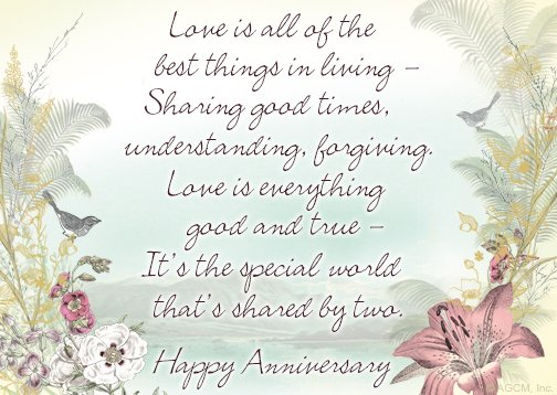 Anniversary - Our Designs