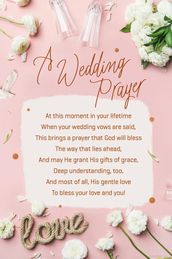 "A Wedding Prayer""  Wedding eCard  Blue Mountain eCards"