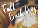 Fall Back Day 11/3 Autumn eCards