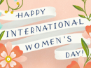 International Women's Day 3/8 March eCards
