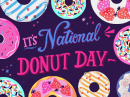 National Donut Day 6/7 June eCards