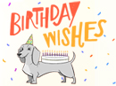 Wiener Dog Wishes Birthday eCards