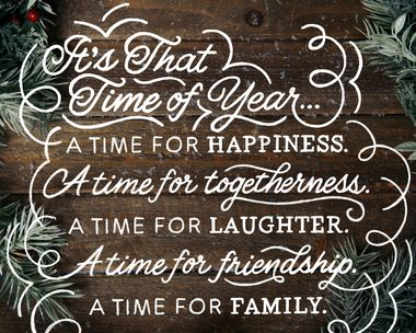 A Time for Togetherness