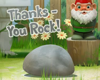 Thanks--You Rock! (Reply Card)