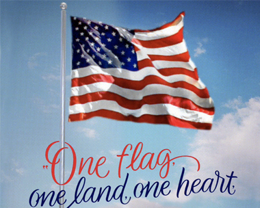 One Land, One Heart on Patriot Day