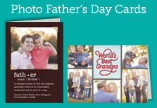 SHOP Photo Father's Day Cards