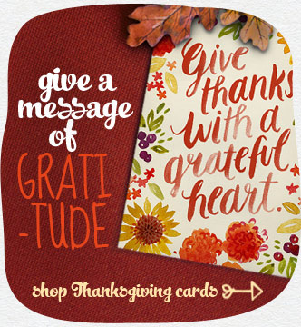 Add your own unique touch to a colorful card and share Thanksgiving happiness. Shop Thanksgiving cards