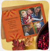 Shop Thanksgiving photo cards
