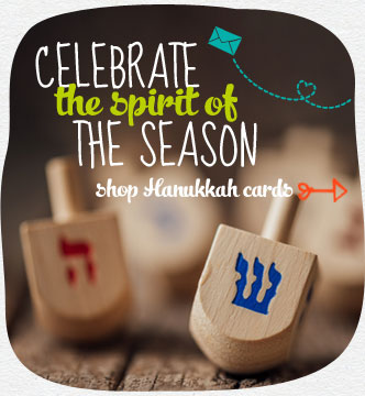 Celebrate the spirit of the season.  We have a wide selection of Hanukkah cards for everyone on your list. Shop Hanukkah cards