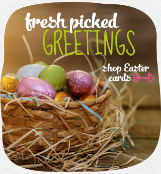 Fresh picked greetings...from a garden of Easter wishes. Pick from a wide variety of Easter cards. Shop Easter cards