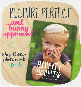 Picture perfect and bunny-approved. Unique photo cards for all the special people in your life. Shop Easter photo cards