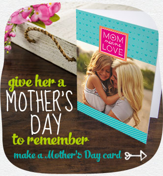 Give her a Mother's Day to remember…with a card she'll never forget. Shop Mother's Day cards