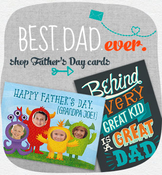 Best.  Dad.  Ever.  Let him know with a card only you can make.  Choose from our collection of Father's Day greetings.  Shop Father's Day Cards