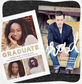 Shop graduation announcements
