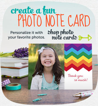 Stationary that's so you!  Personalize it with your favorite photos.  Shop stationery