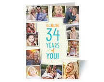 Personalized Birthday Cards Greeting Photo