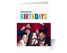 Birthday Photo Cards