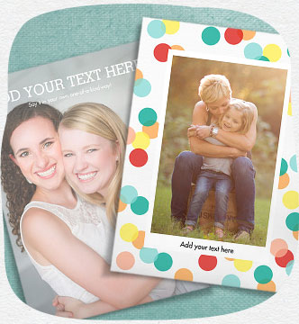 Shop custom photo cards
