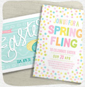 Shop Easter invitations