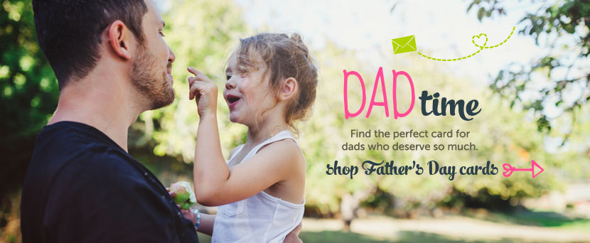 Dad time. Find the perfect card for dads who work hard and play hard too!  Shop Father's Day cards