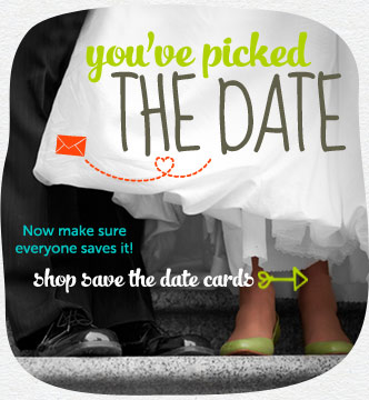 You've picked the date. Now make sure everyone saves it! Shop save the date cards