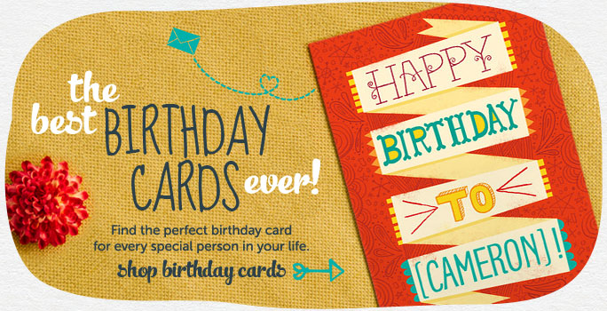 Make and Send Personalized Birthday Cards from Cardstore – Picture Birthday Card