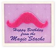 mustache party>