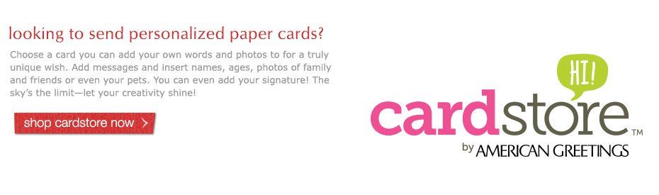 personalized paper cards from cardstore