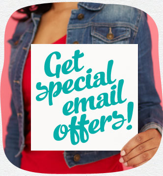 Get special email offers