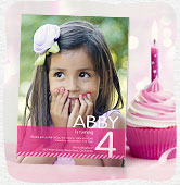 Shop photo birthday invitations