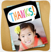 Shop thank you greeting cards