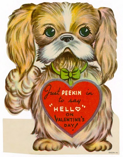 Vintage Valentines 1940s 50s and More – Images of Vintage Valentine Cards