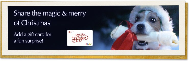 Christmas Ecards - Share the magic and merry of Christmas - Add a gift card for a fun surprise!