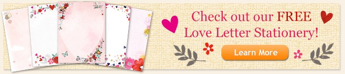 Free Love Stationery