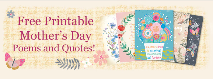 Free Printable Mother's Day Poems & Quotes Billboard