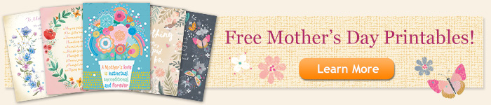 Free Mother's Day Poems & Quotes Banner