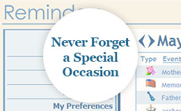 Never Forget a Special Occasion