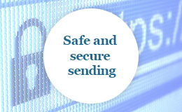 Safe and secure sending