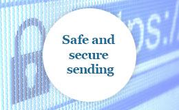 Safe and secure sending