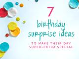 birthday surprise ideas >