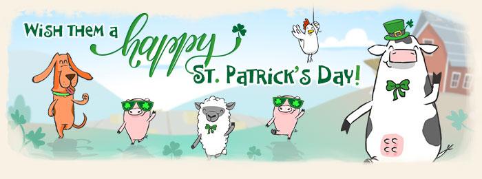 St. Patrick's Day eCards