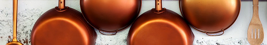 49th Anniversary - Copper Pans