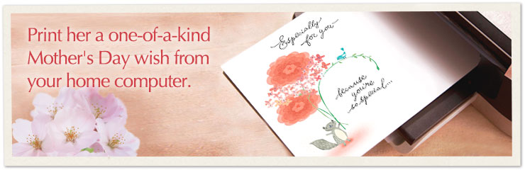 Send loving thoughts on Mother's Day with a card you can print at home.