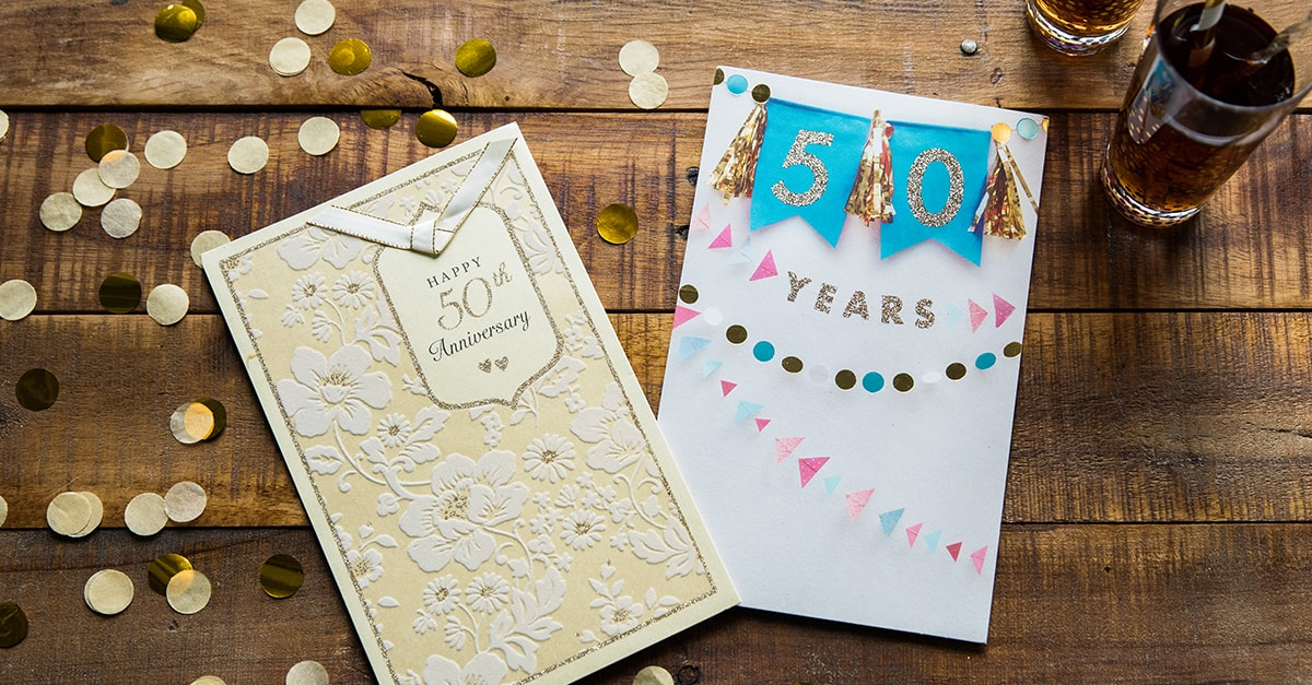 50th Anniversary Messages - American Greetings