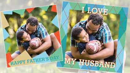 Celebrate Dad Photo Frame