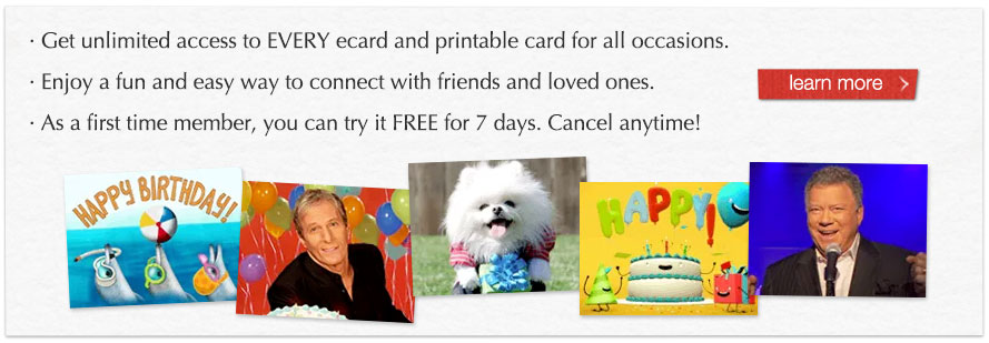 Become a member to send these other amazing ecards!