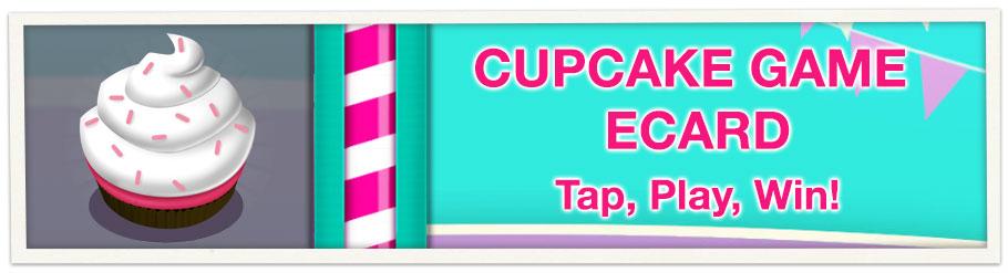 Cupcake Game Ecard